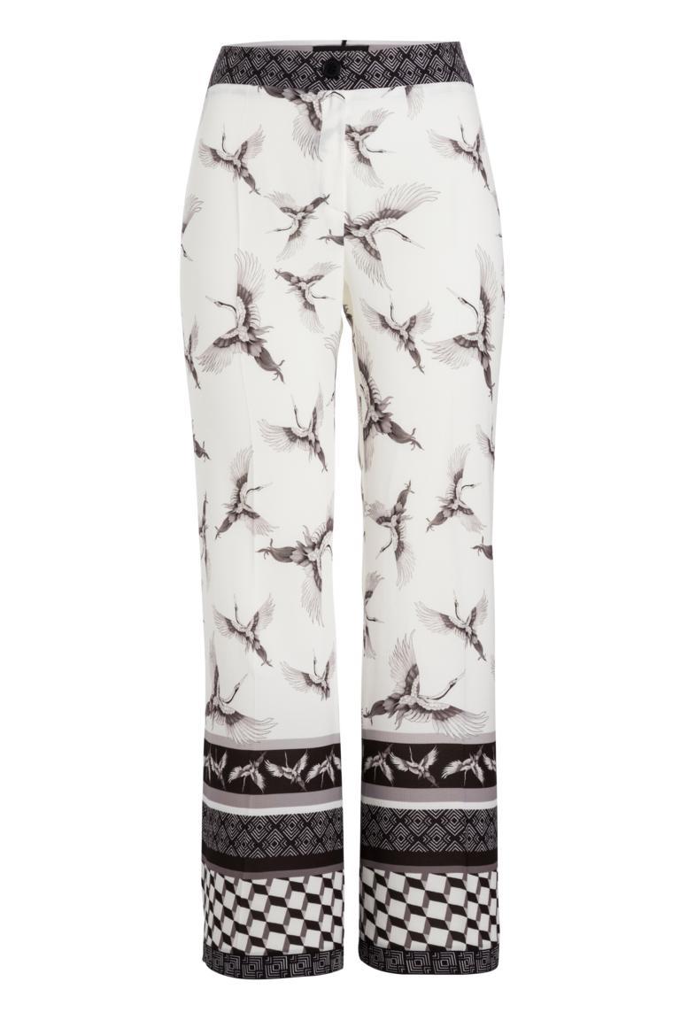 Ana Alcazar Trousers Meyliria White
