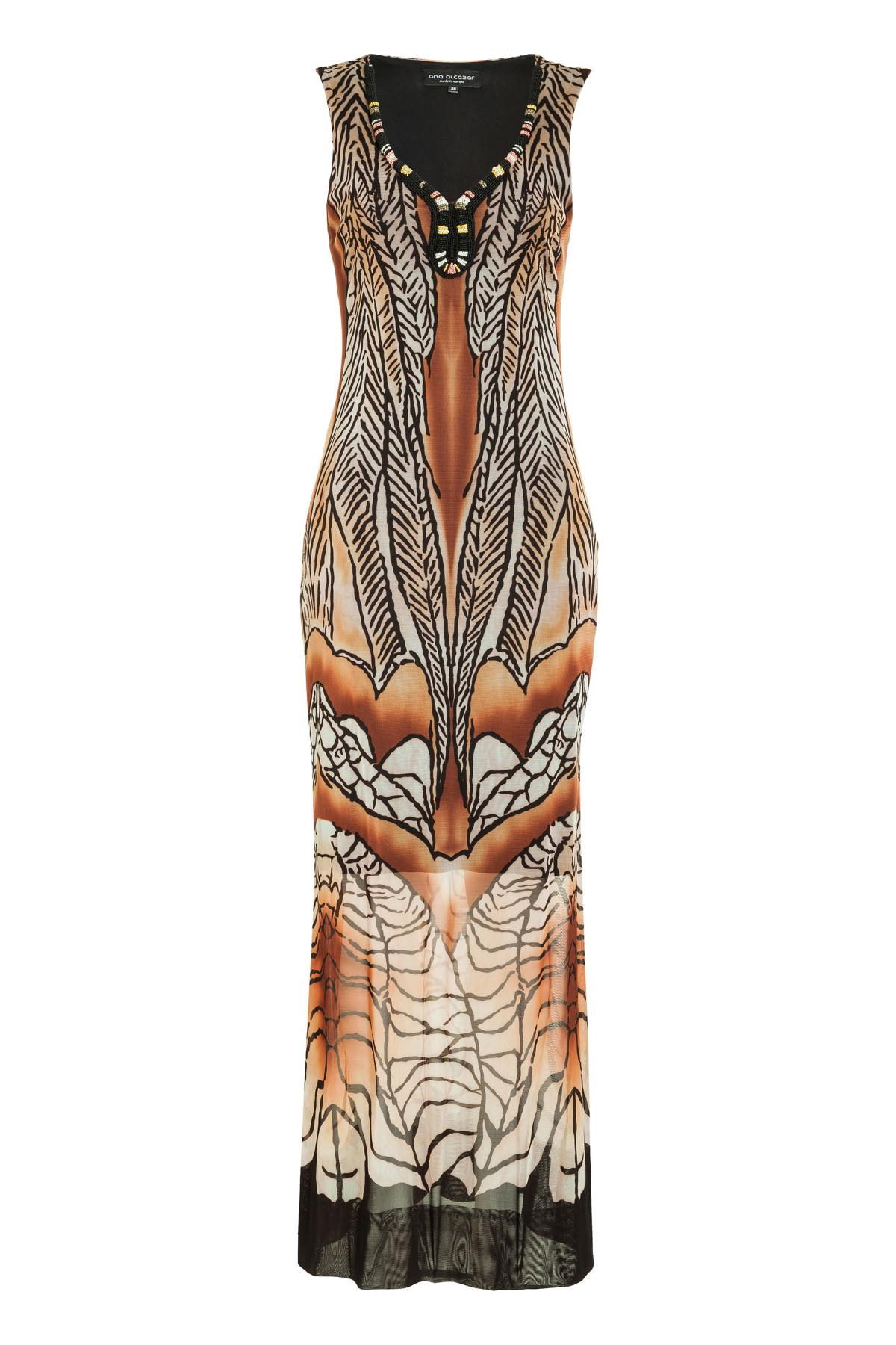 Ana Alcazar Limited Edition Maxi Dress Mercina