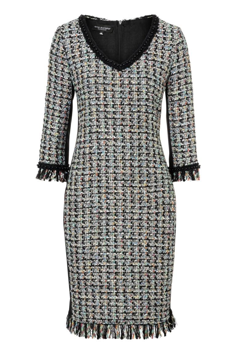 Ana Alcazar Tweed Dress Oriwa