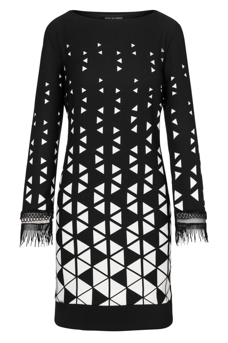 Ana Alcazar Graphic Kleid Ossanna