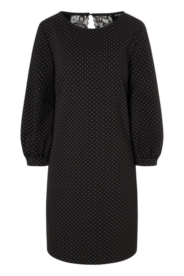 Ana Alcazar A-Linien-Kleid Pandite Punkte