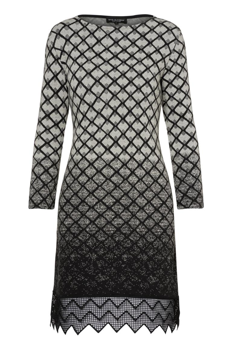 Ana Alcazar Zig-Zag Dress Pakea