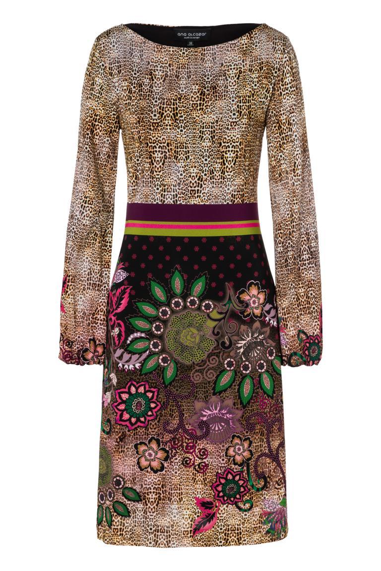 Ana Alcazar Langarm-Kleid Phadary