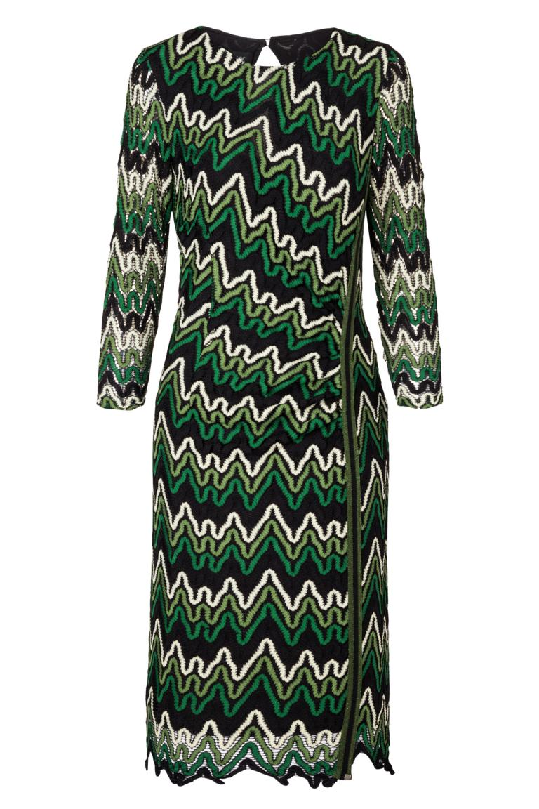 Ana Alcazar Lurex-Strip Photysa Green
