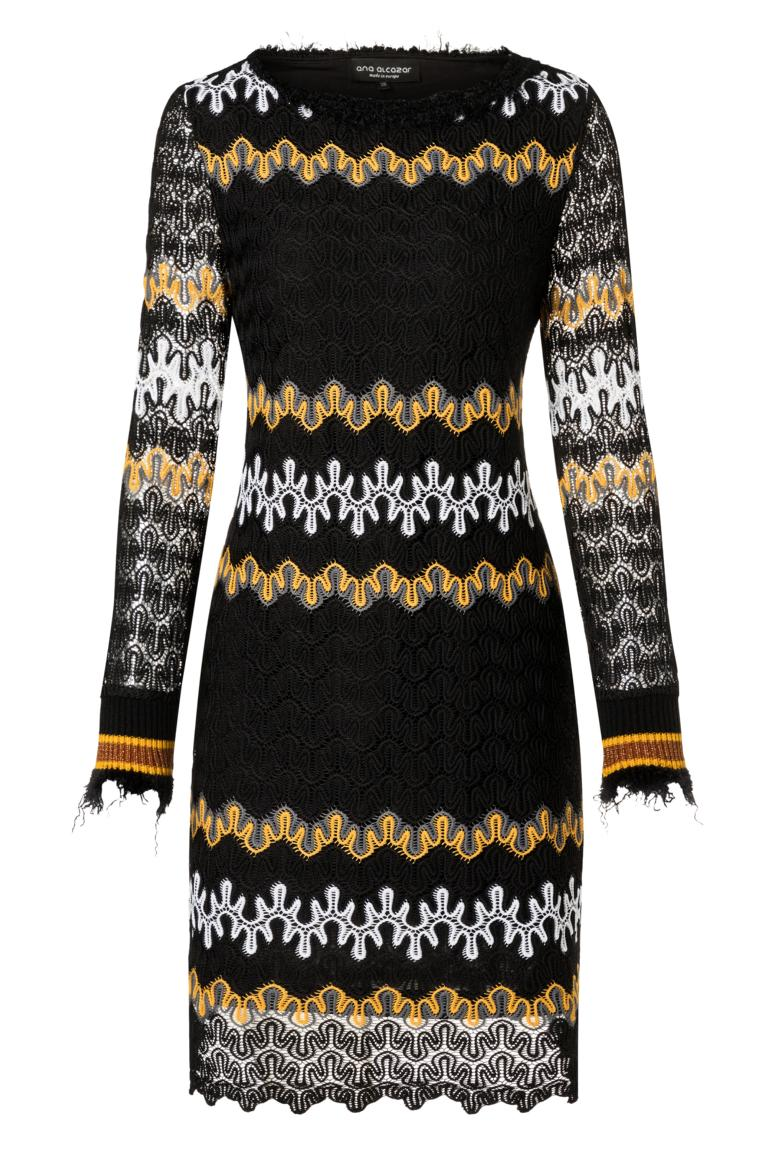 Ana Alcazar Tunic Dress Posiera Black