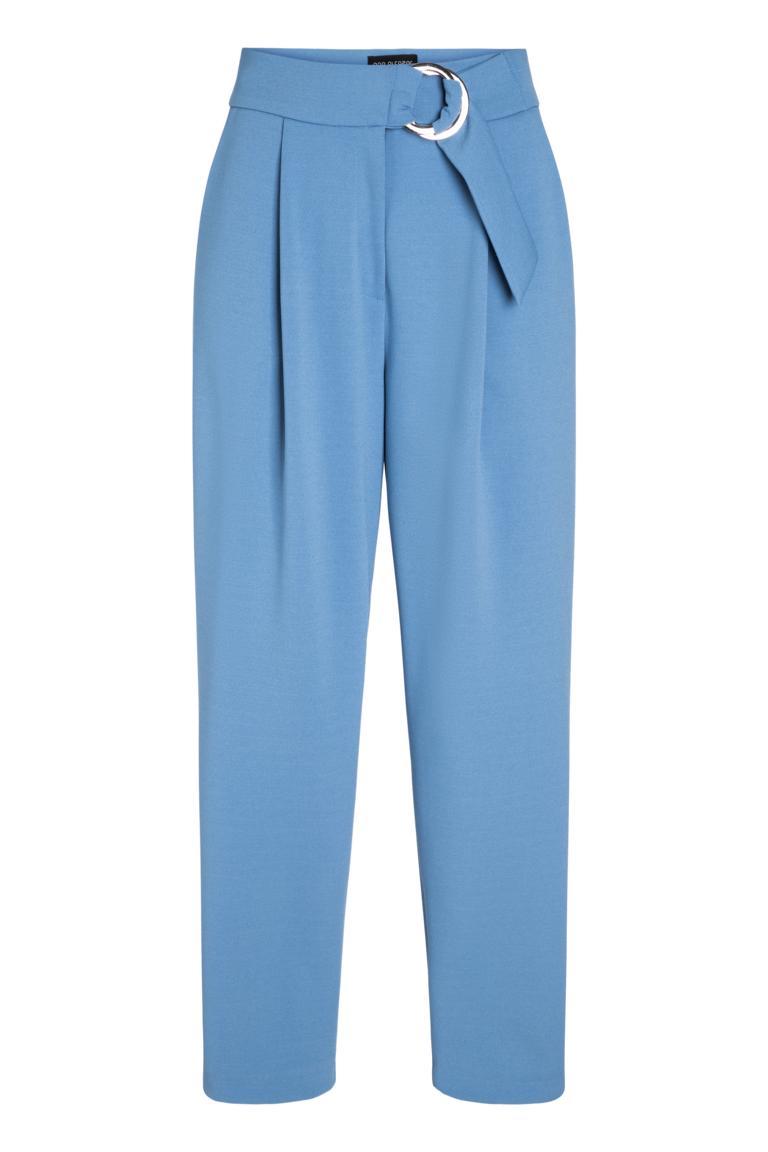 Ana Alcazar Cropped Pants Pyra Blue