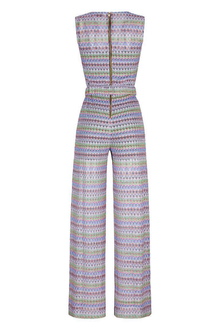 Rückansicht von Ana Alcazar Limited Edition Jumpsuit Minkaela
