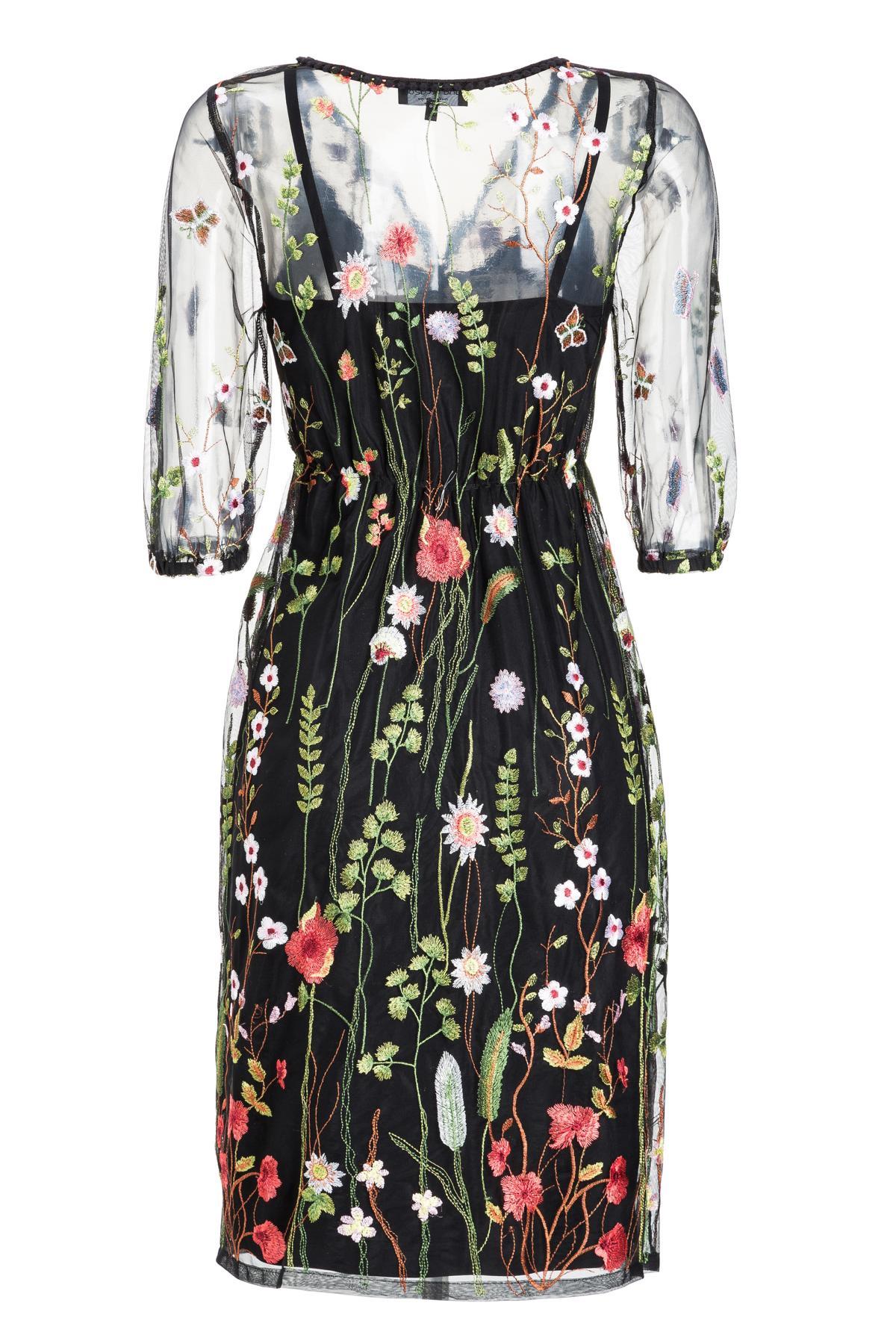 Rückansicht von Ana Alcazar Limited Edition Tüllkleid Mabel