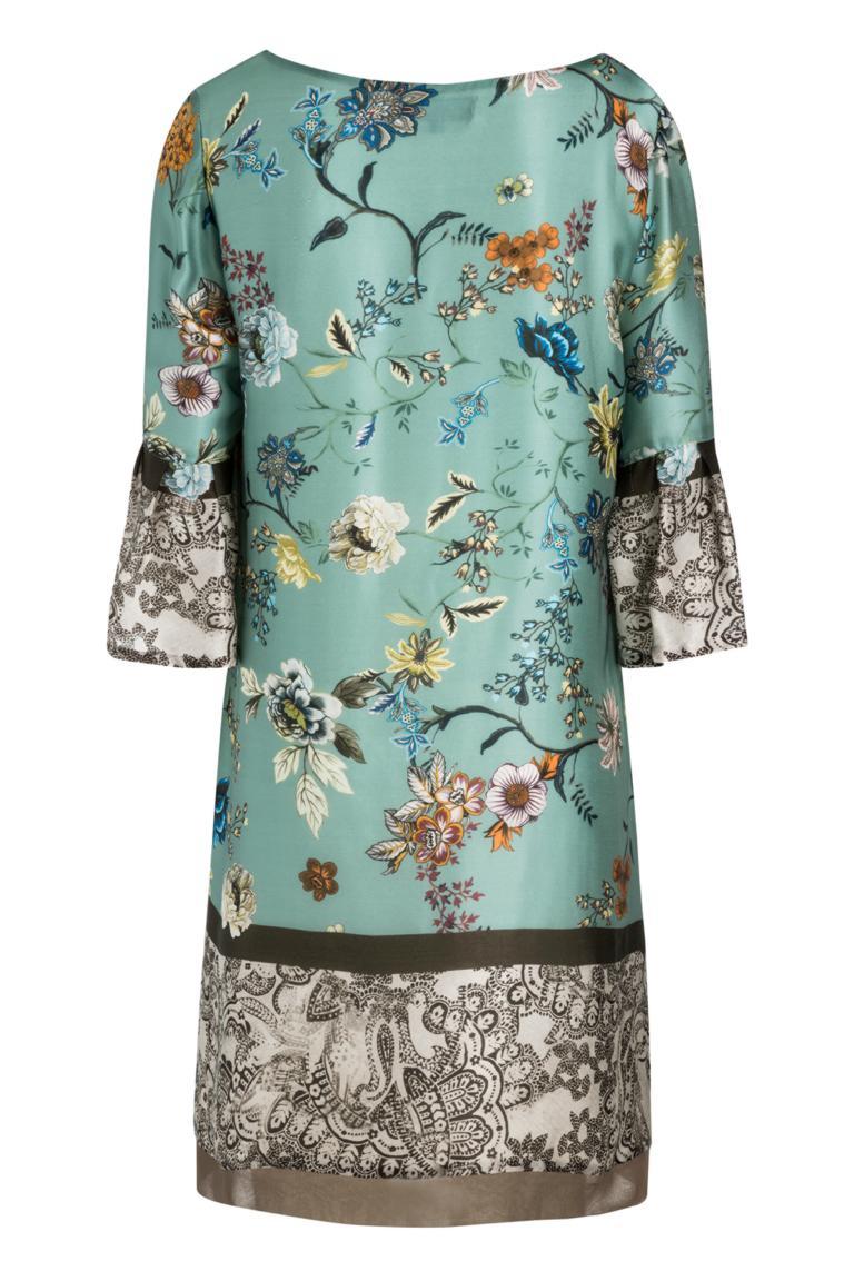 Rückansicht von Ana Alcazar Trompetenärmel Kleid Nasimy