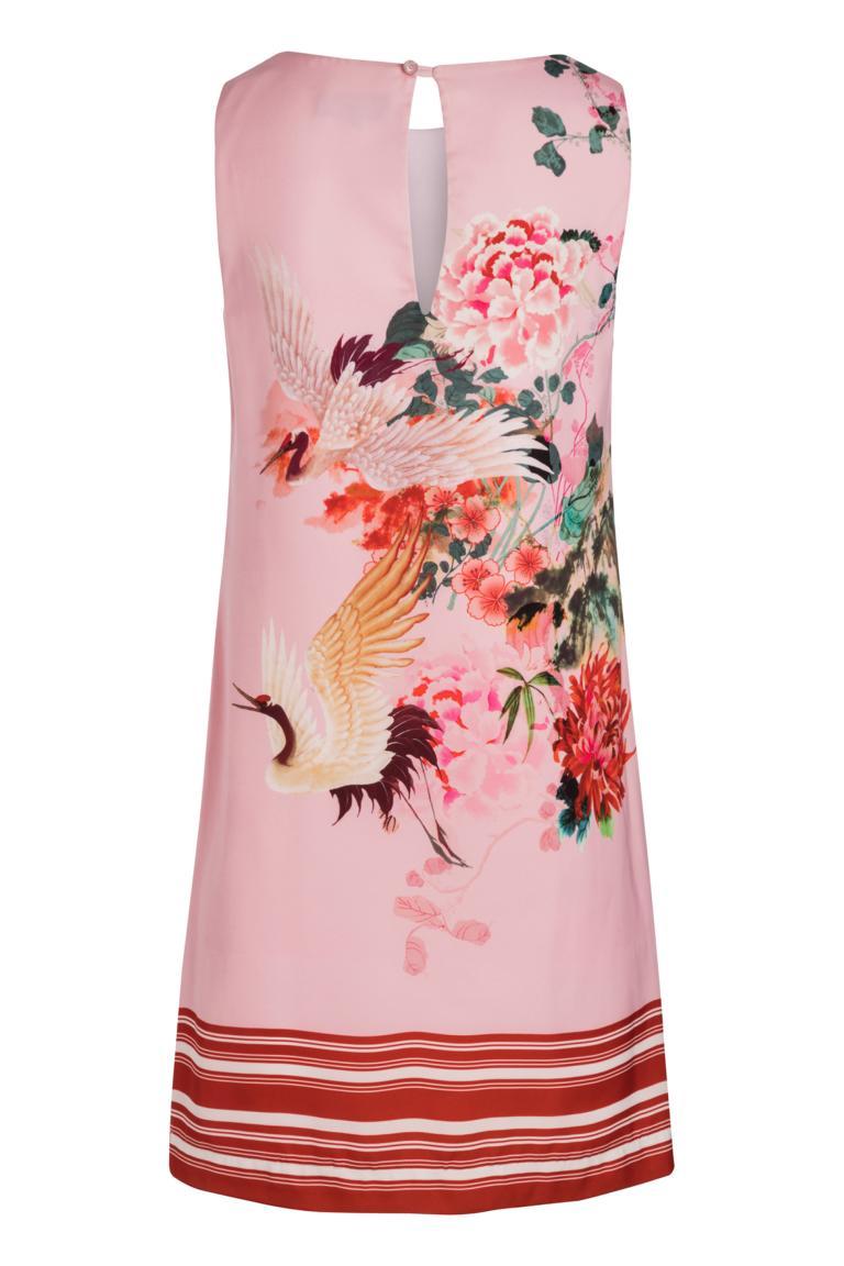 Rückansicht von Ana Alcazar A-Linen Kleid Nea