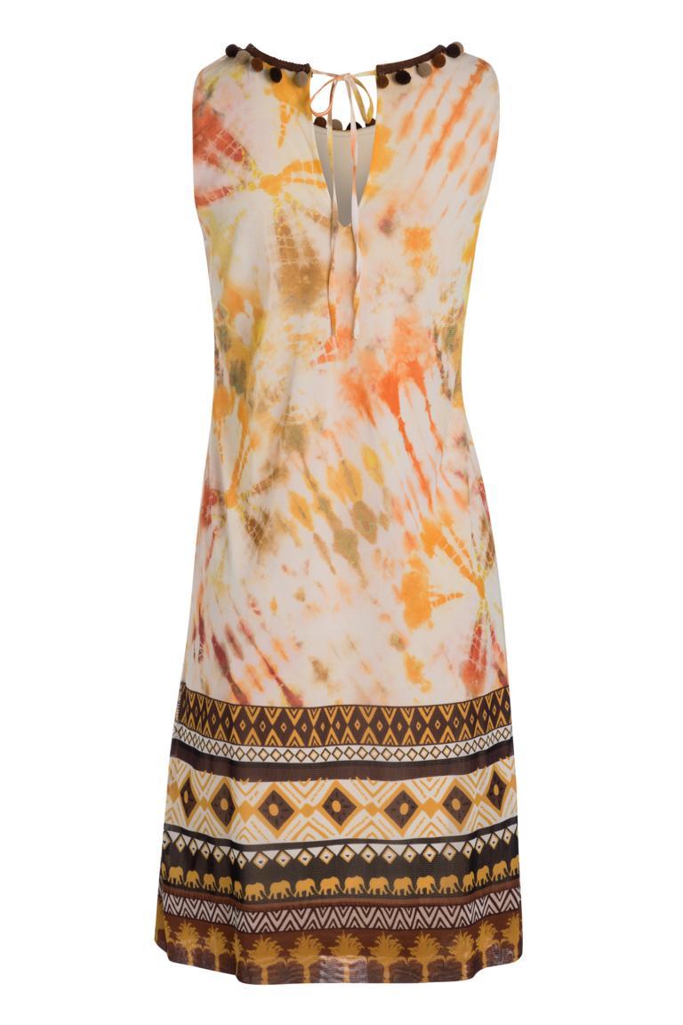 Rückansicht von Ana Alcazar A-Linien Kleid Nanuk