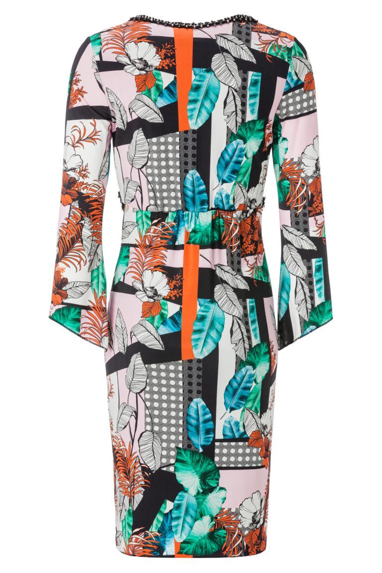 Rückansicht von ana alcazar Tunika Kleid Amerolena