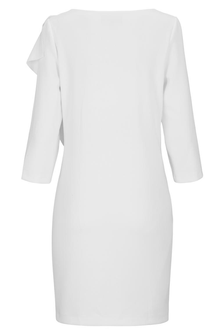Rückansicht von Ana Alcazar Volant-Kleid Diney