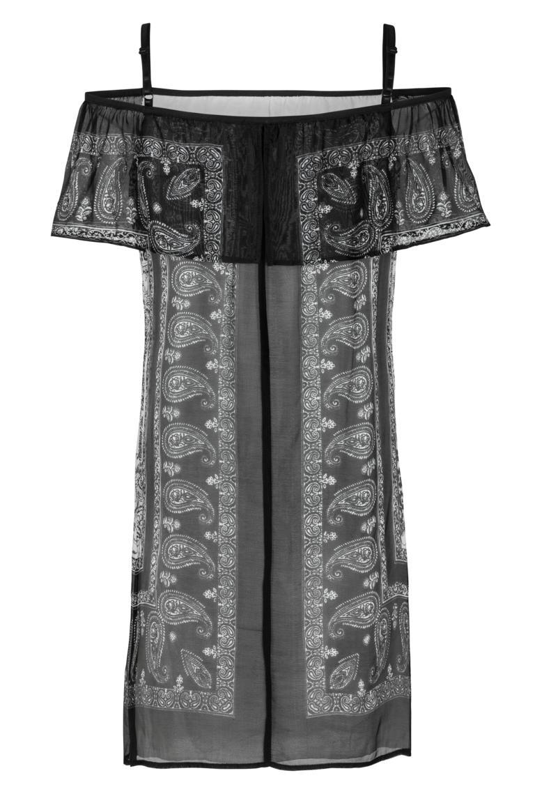 Rückansicht von Ana Alcazar Off-Shoulder Kleid Fyadora