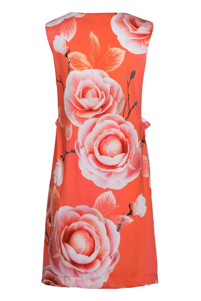 Rückansicht von Ana Alcazar Limited Edition Rüschenkleid Malibe