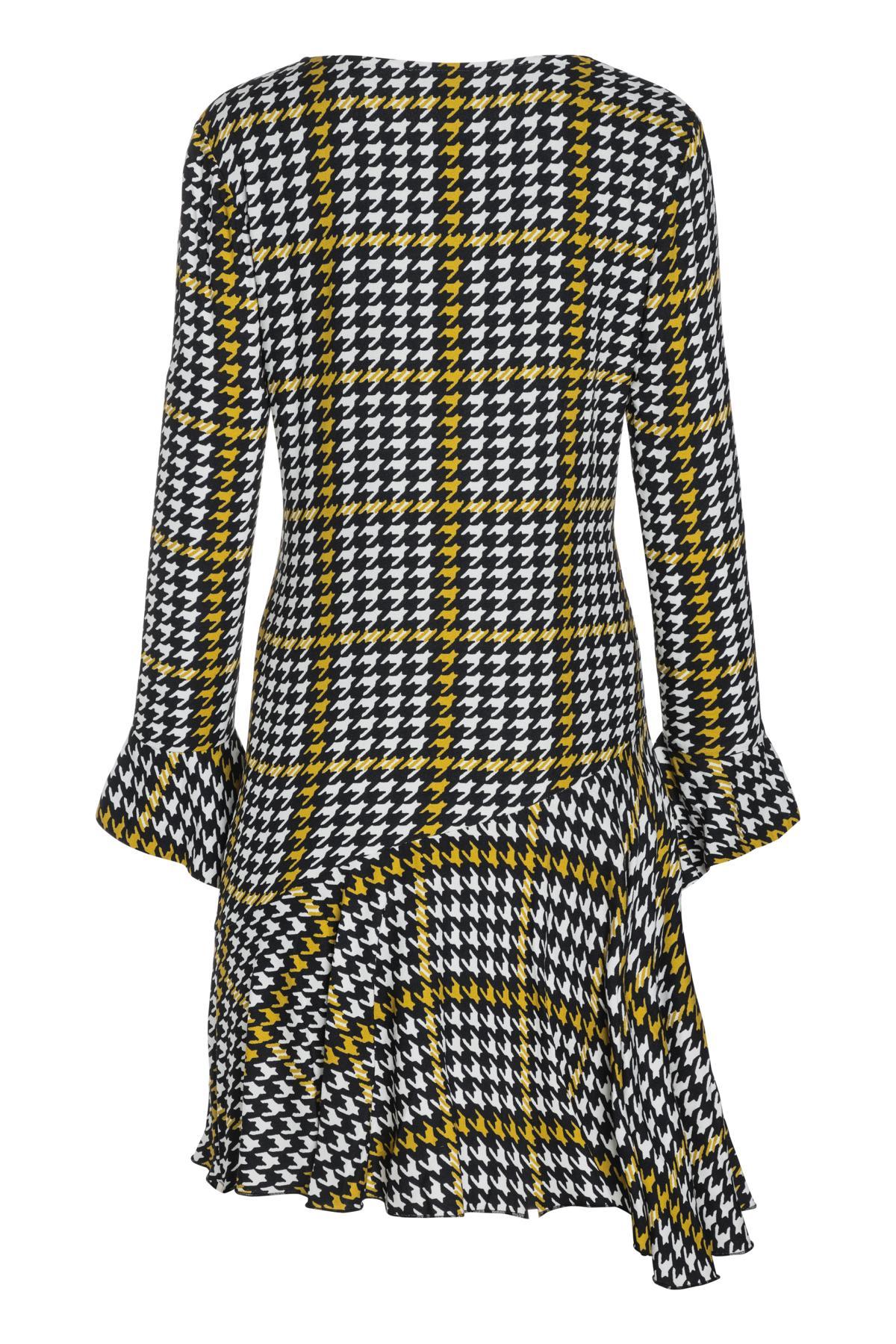 Rückansicht von Ana Alcazar Limited Asymmetrisches Kleid Omaiza
