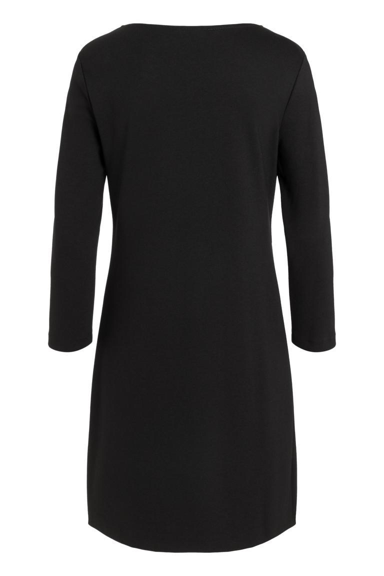 Rückansicht von Ana Alcazar Lurex Kleid Penela
