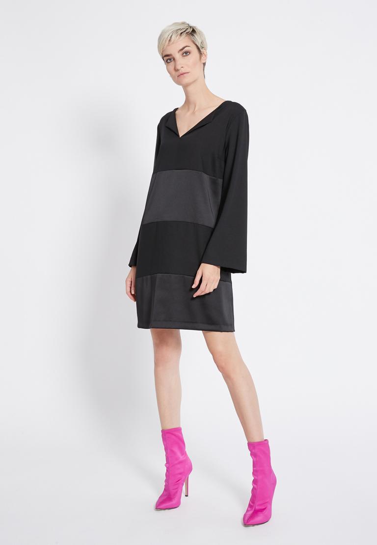 Rückansicht von Ana Alcazar Tunika Kleid Regine