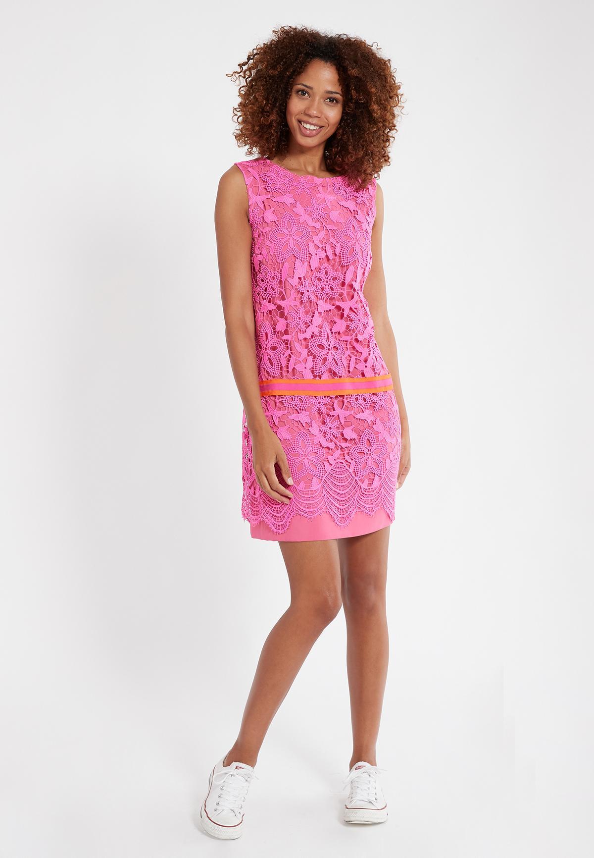 Rückansicht von Ana Alcazar Ärmelloses Kleid Sagena