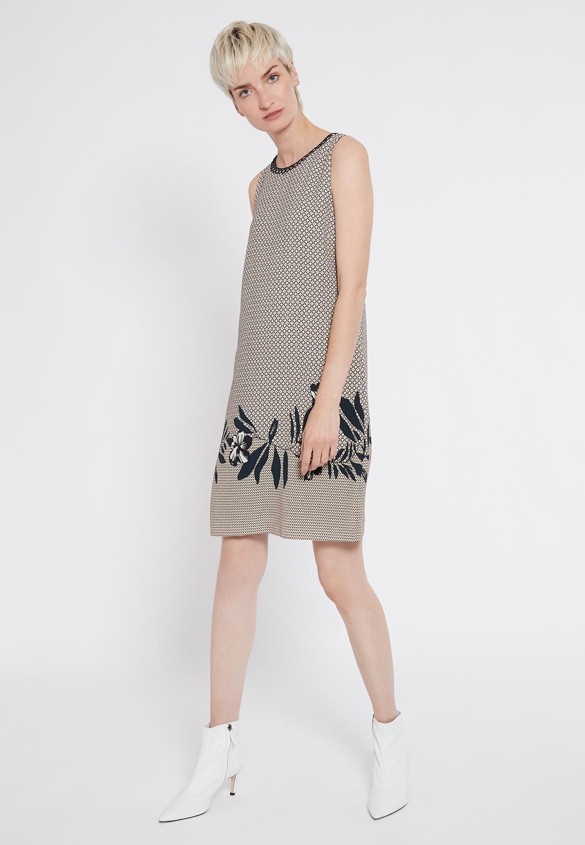 Rear view of Ana Alcazar Sleeveless Dress Sedoni