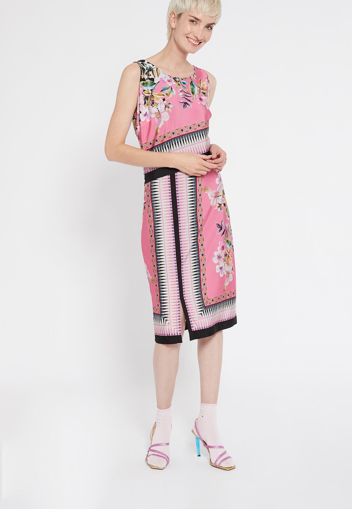 Rückansicht von Ana Alcazar Schlichtes Kleid Shenty