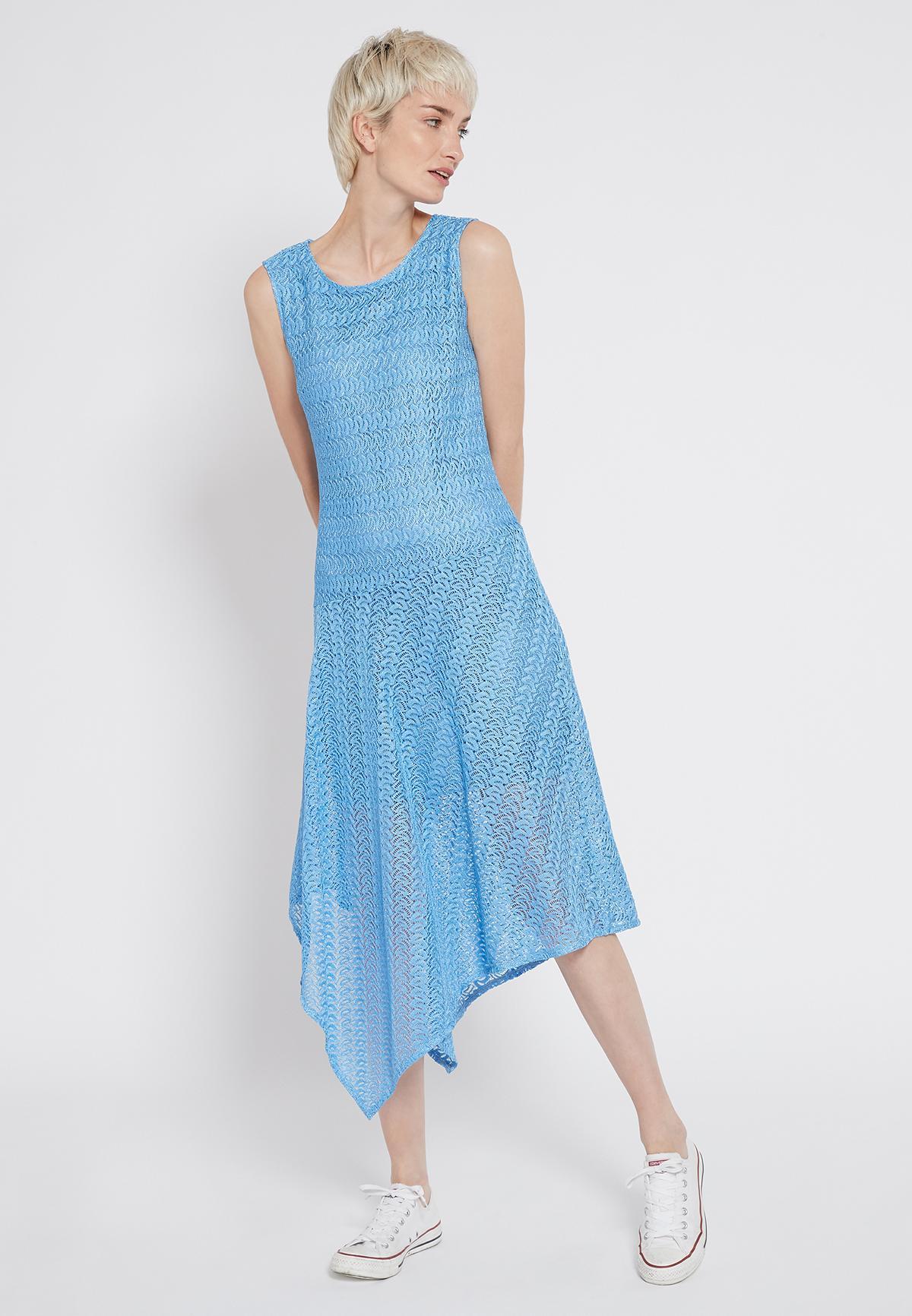 Rückansicht von Ana Alcazar Midi Kleid Sisnea
