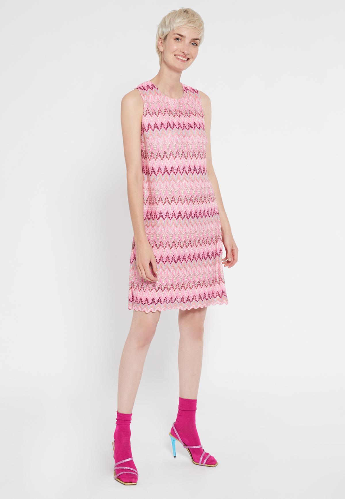 Rückansicht von Ana Alcazar Schlichtes Kleid Sobly