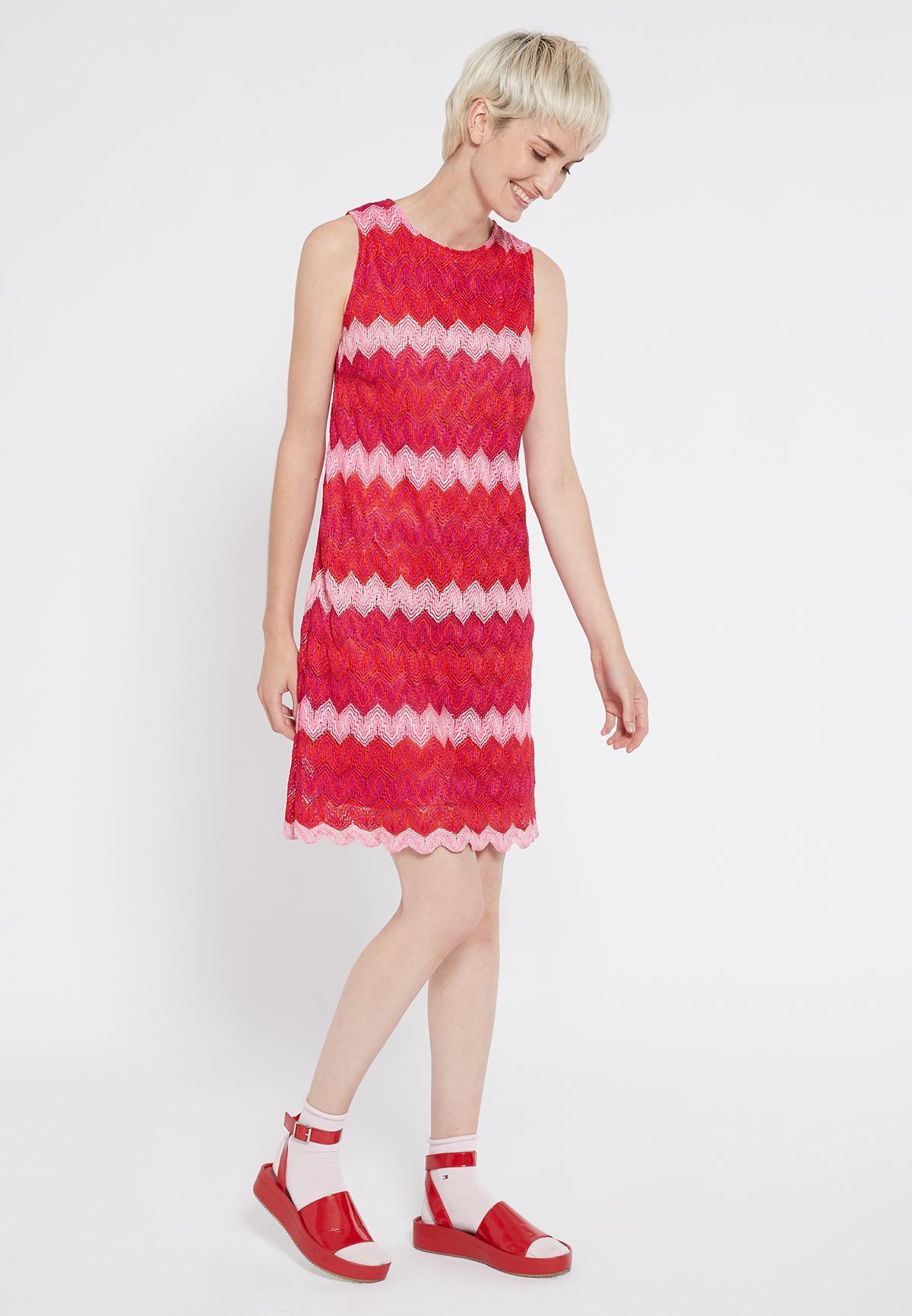 Rückansicht von Ana Alcazar Ärmelloses Kleid Soshky