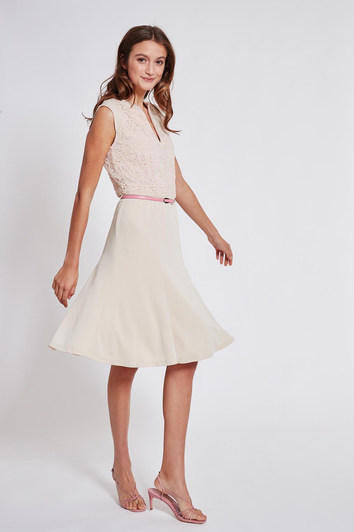 Rückansicht von Ana Alcazar Schwingendes Kleid Taggy