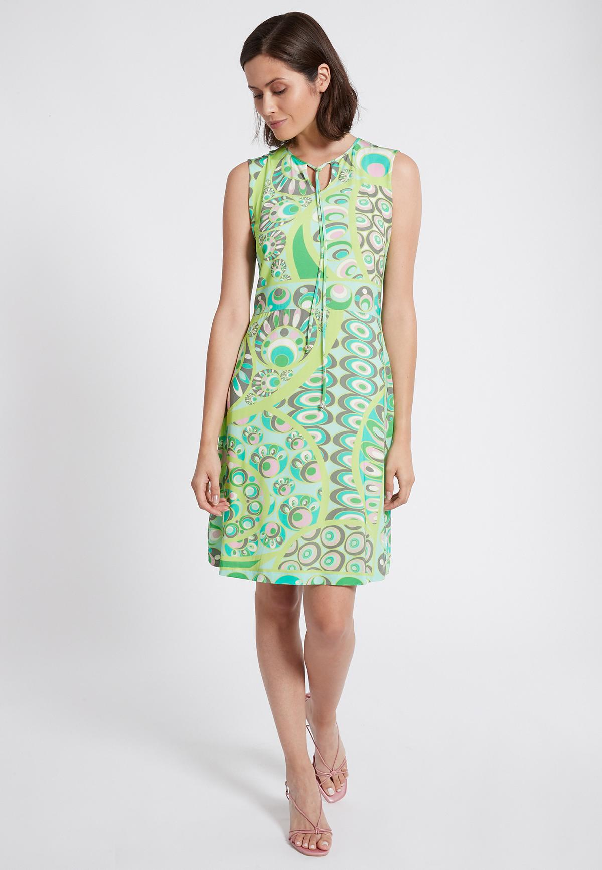 Rückansicht von Ana Alcazar Schlichtes Kleid Teomy
