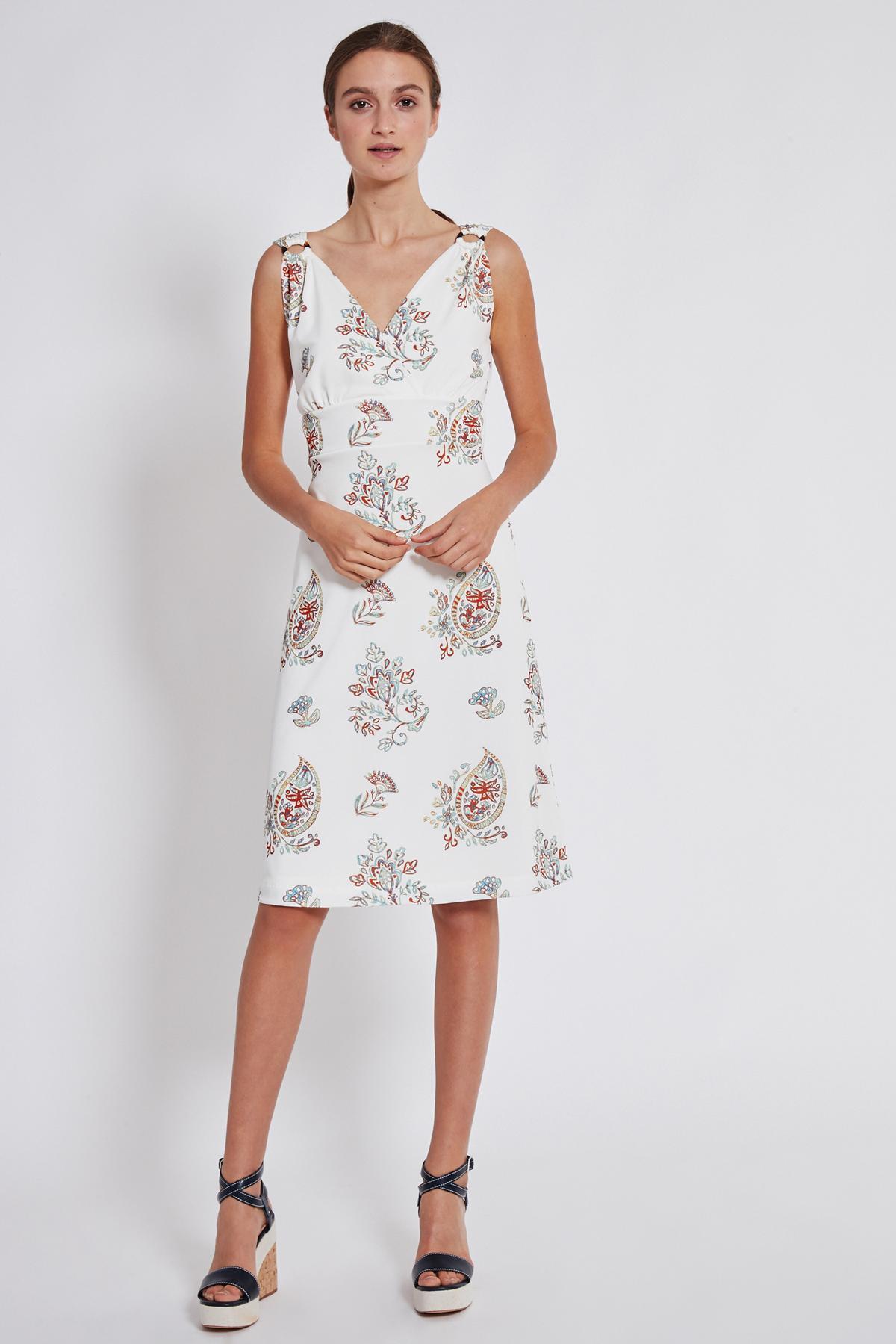 Rückansicht von Ana Alcazar Tailliertes Kleid Tesmy