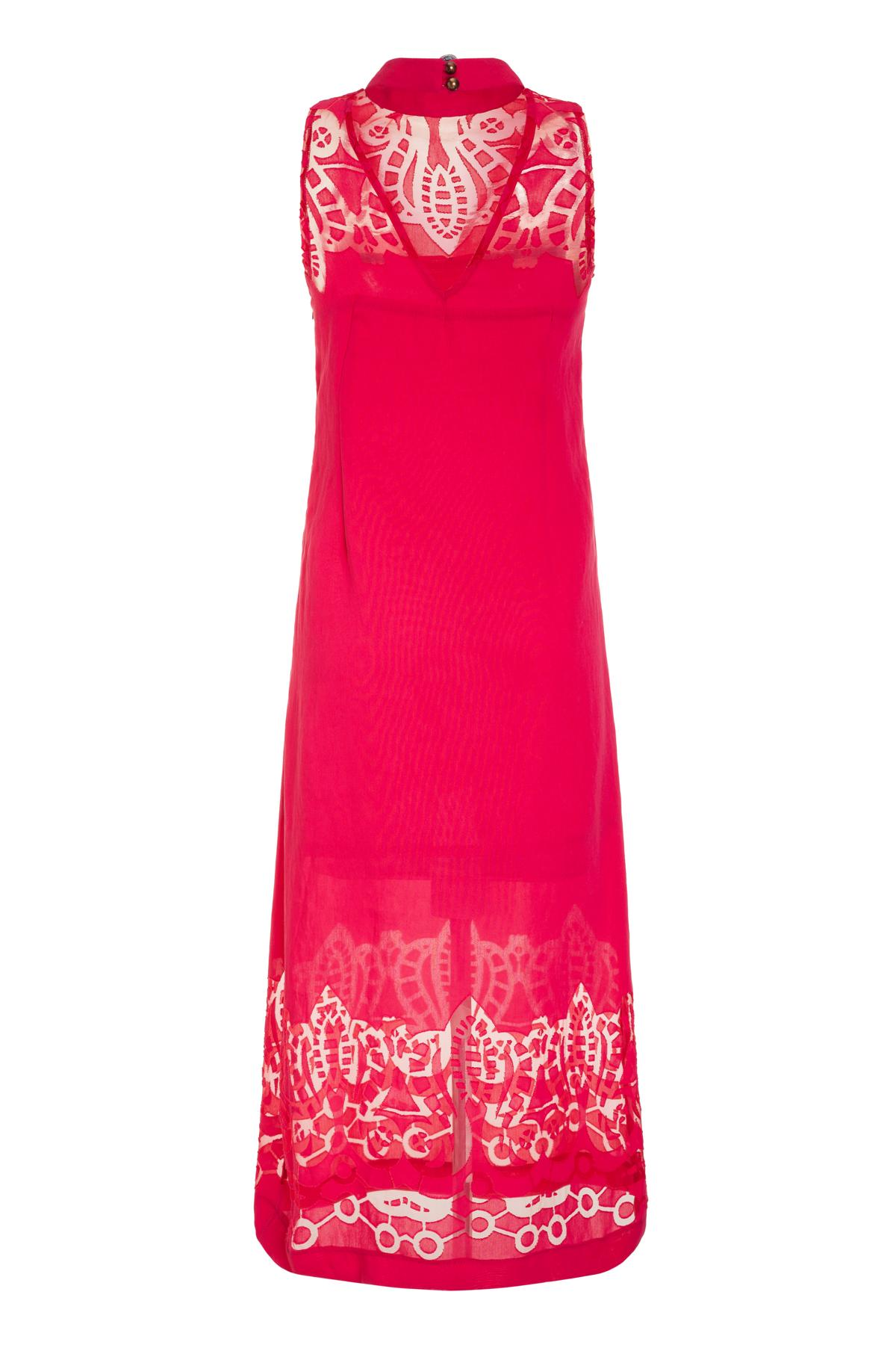 Rückansicht von Ana Alcazar Midi Kleid Massoles