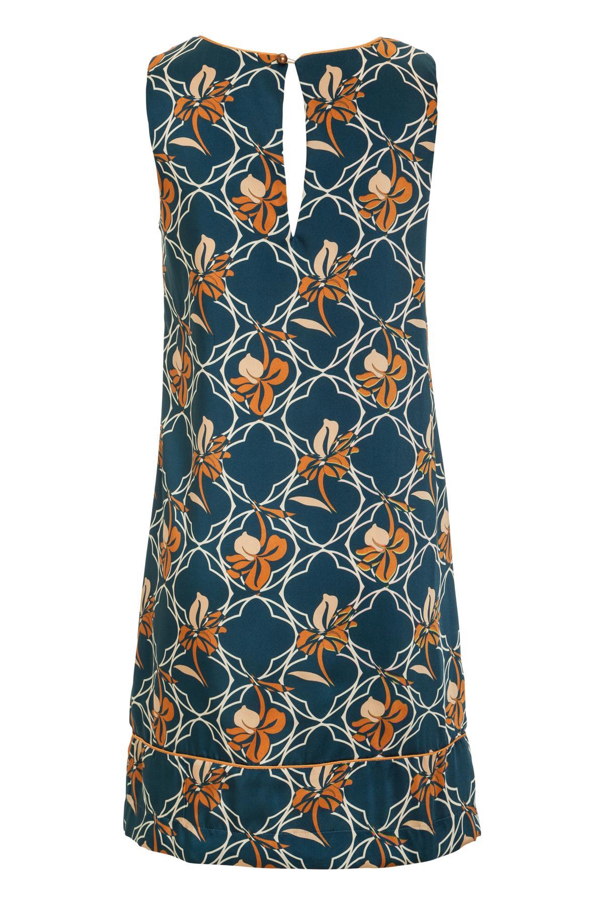 Rückansicht von Ana Alcazar A-Linien Kleid Manexia