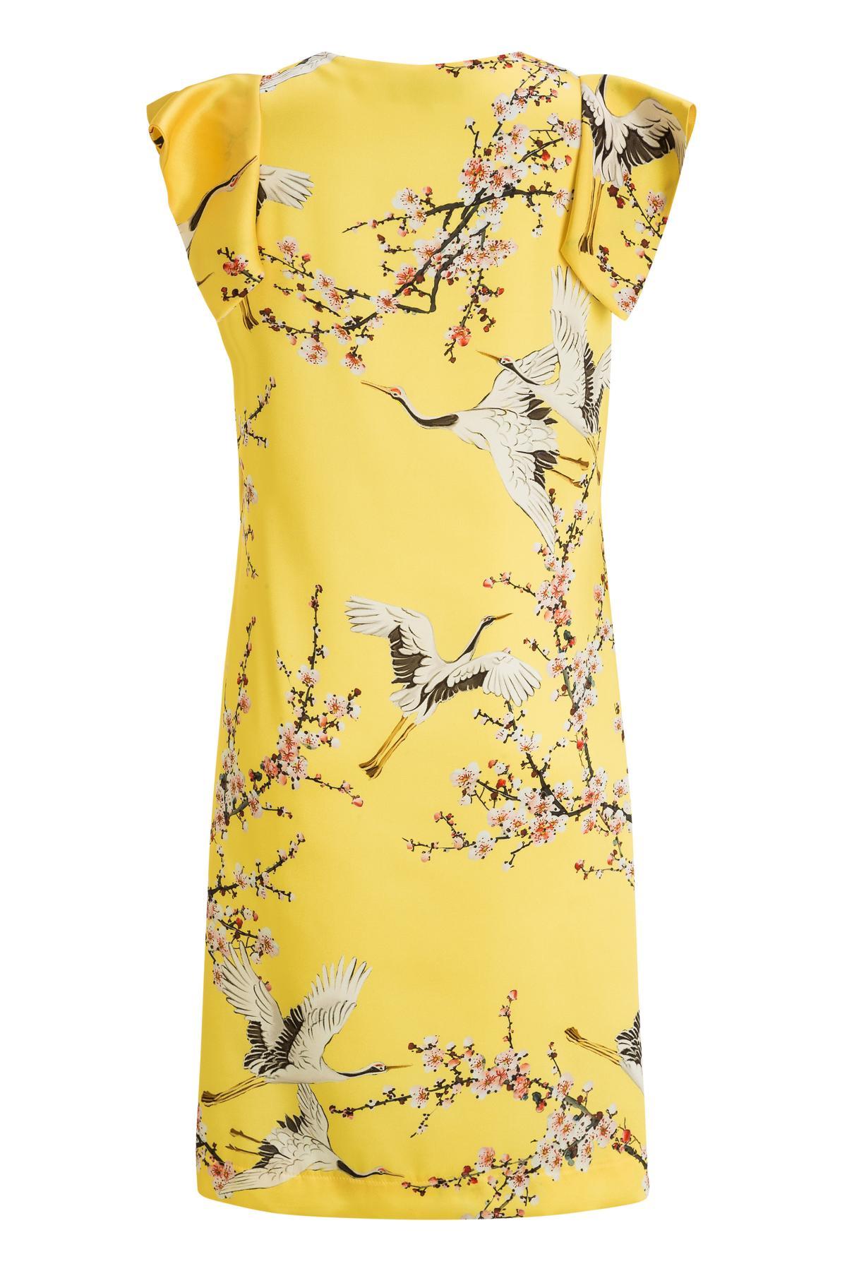 Rückansicht von Ana Alcazar A-Linien Kleid Mirany
