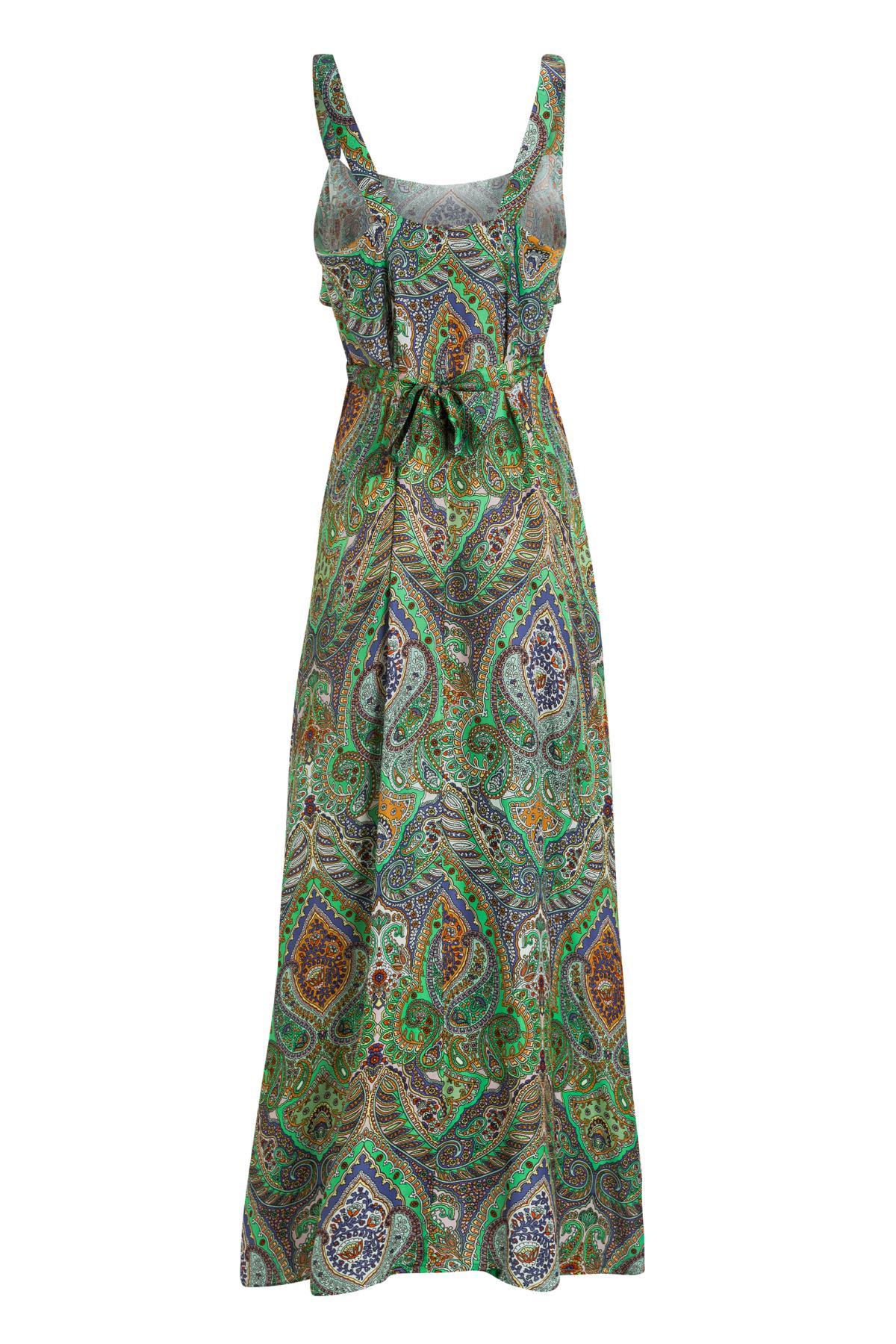 Rückansicht von Ana Alcazar Maxi Kleid Moanita