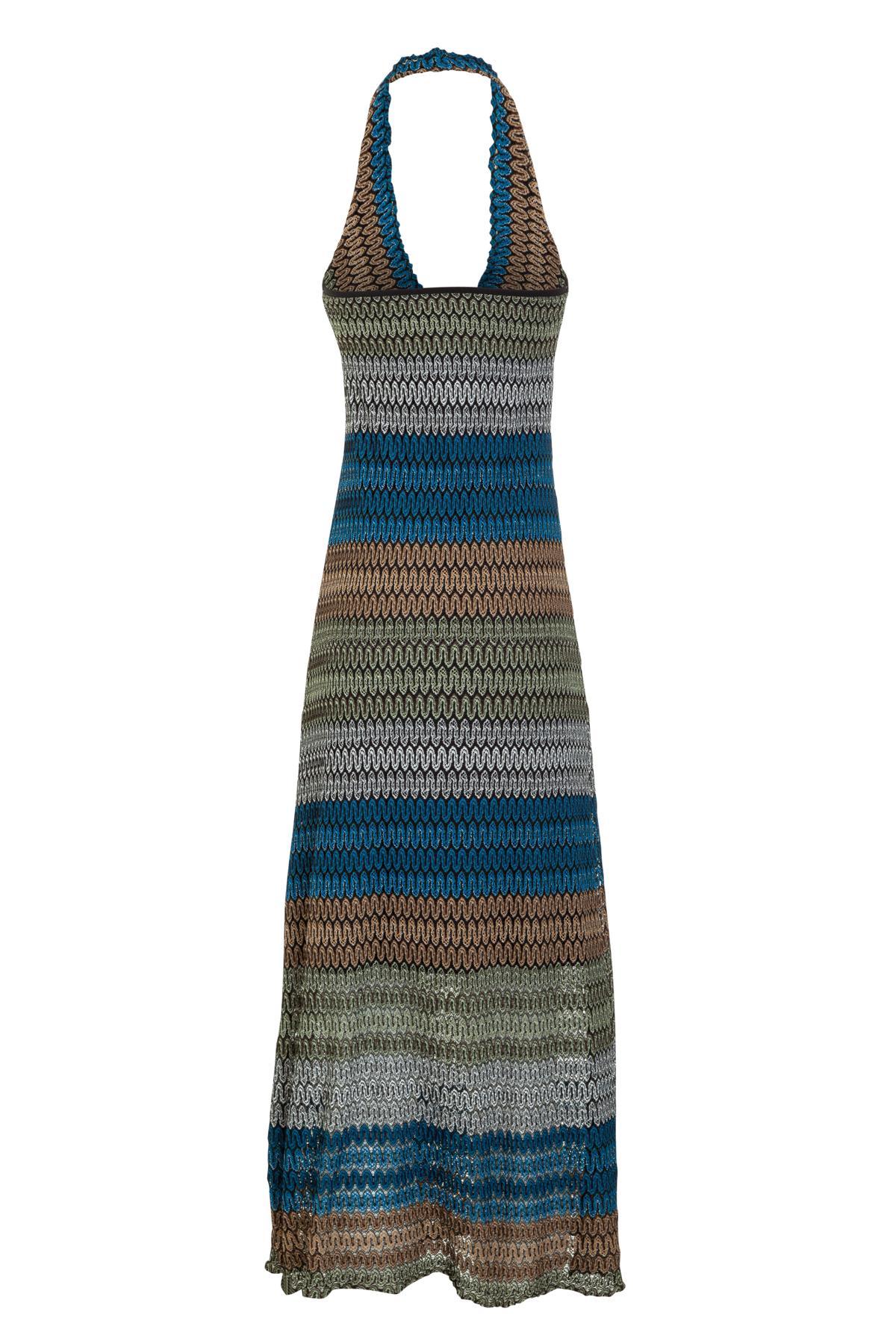 Rückansicht von Ana Alcazar Midi Kleid Myrthea