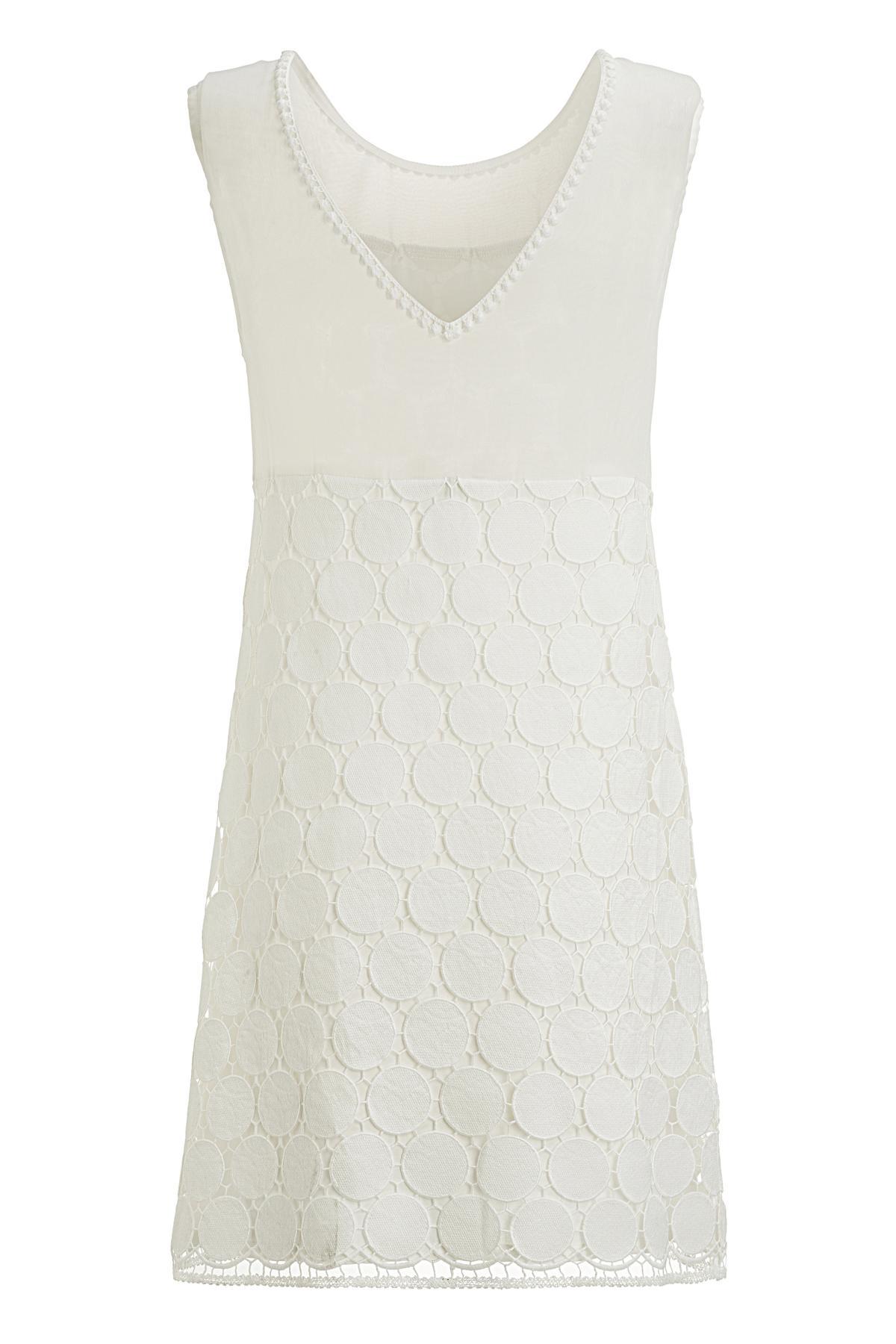 Rückansicht von Ana Alcazar A-Linien Kleid Maiveas