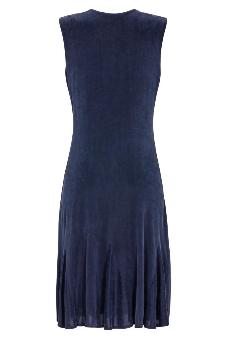 Rückansicht von Ana Alcazar Tailliertes Kleid