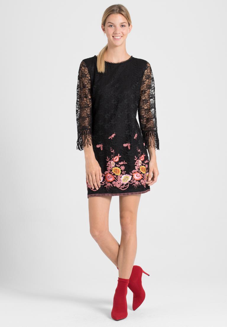 Rückansicht von Ana Alcazar A-Linien-Kleid Obany