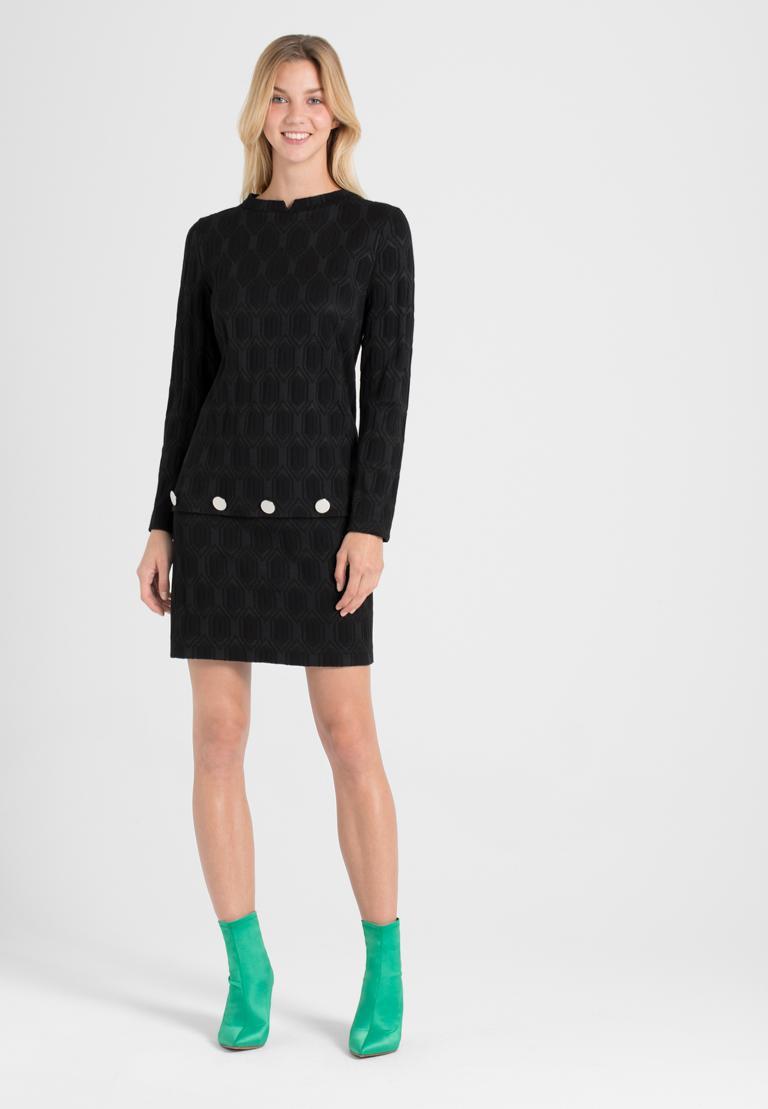 Rückansicht von Ana Alcazar  A-Linien-Kleid Omkany