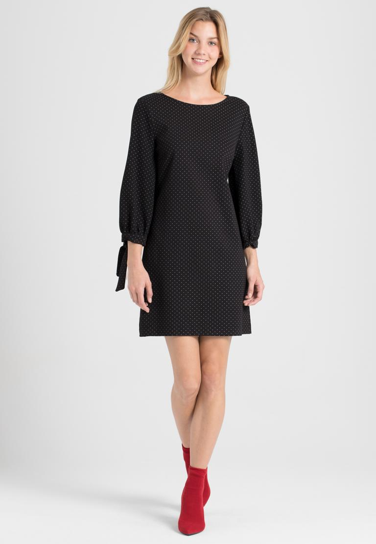 Rückansicht von Ana Alcazar A-Linien-Kleid Pandite Punkte