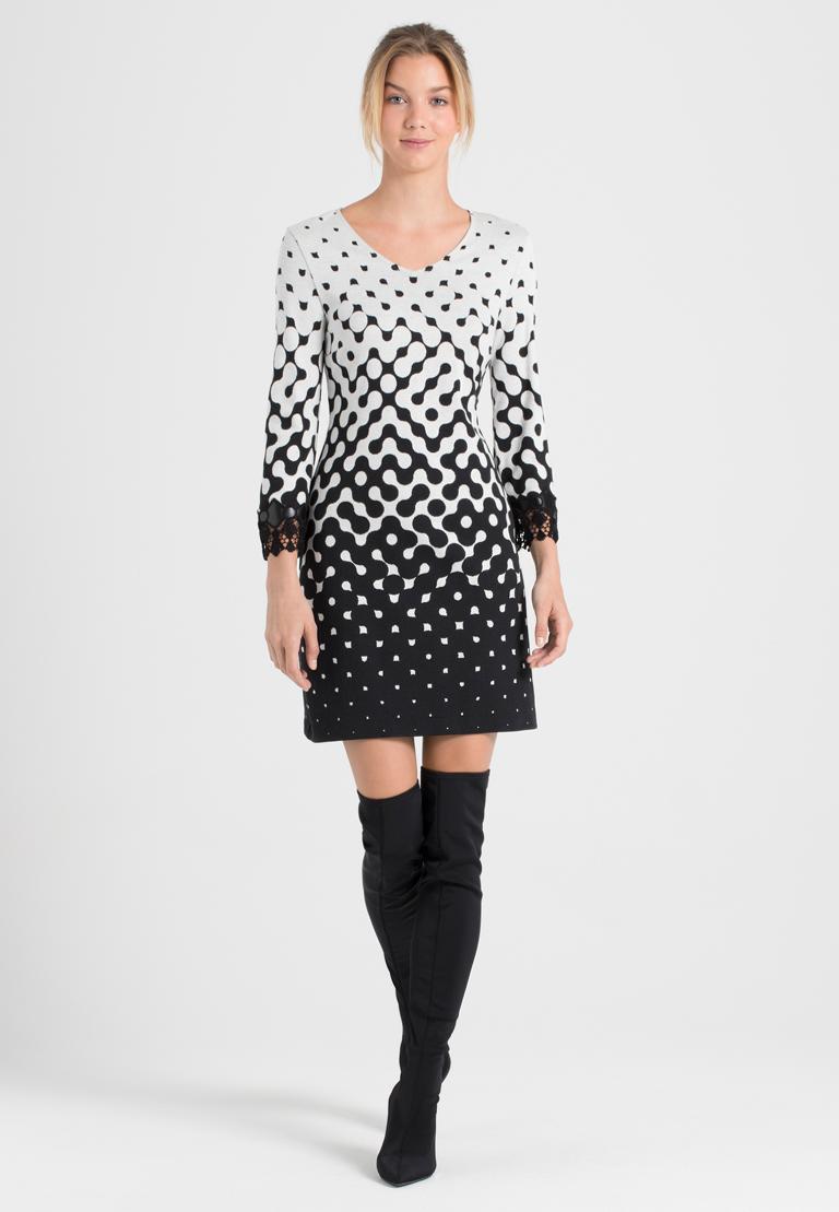 Rückansicht von Ana Alcazar A-Linien-Kleid Prulana