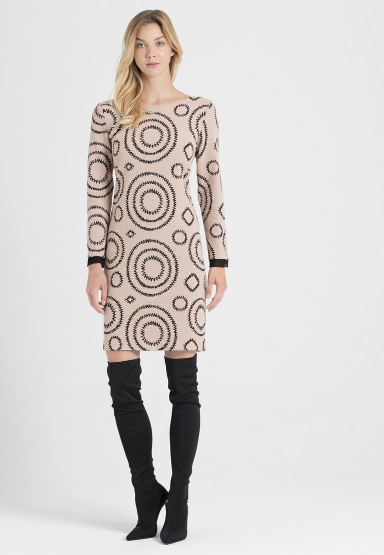 Rückansicht von Ana Alcazar A-Linien-Kleid Pepati Rose