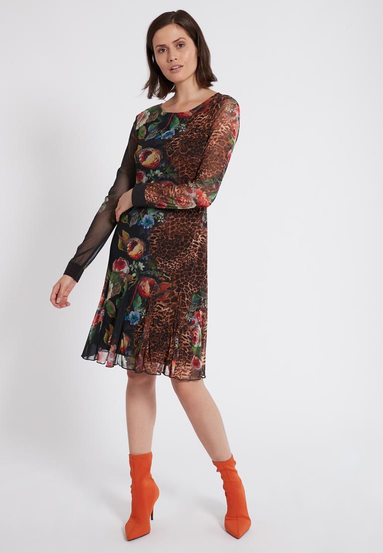 Rückansicht von Ana Alcazar Deco Kleid Phatessa