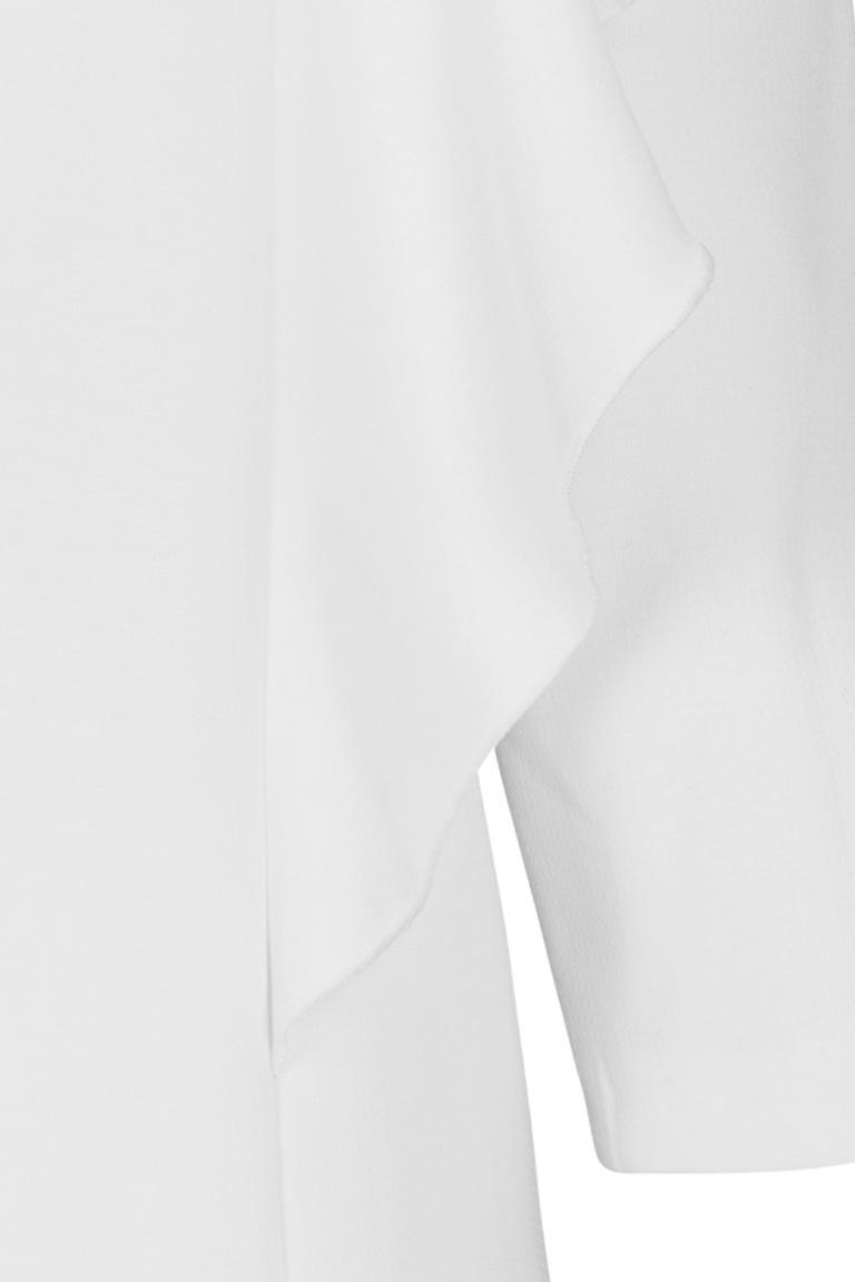 Vorderansicht von Ana Alcazar Volant-Kleid Diney  angezogen an Model