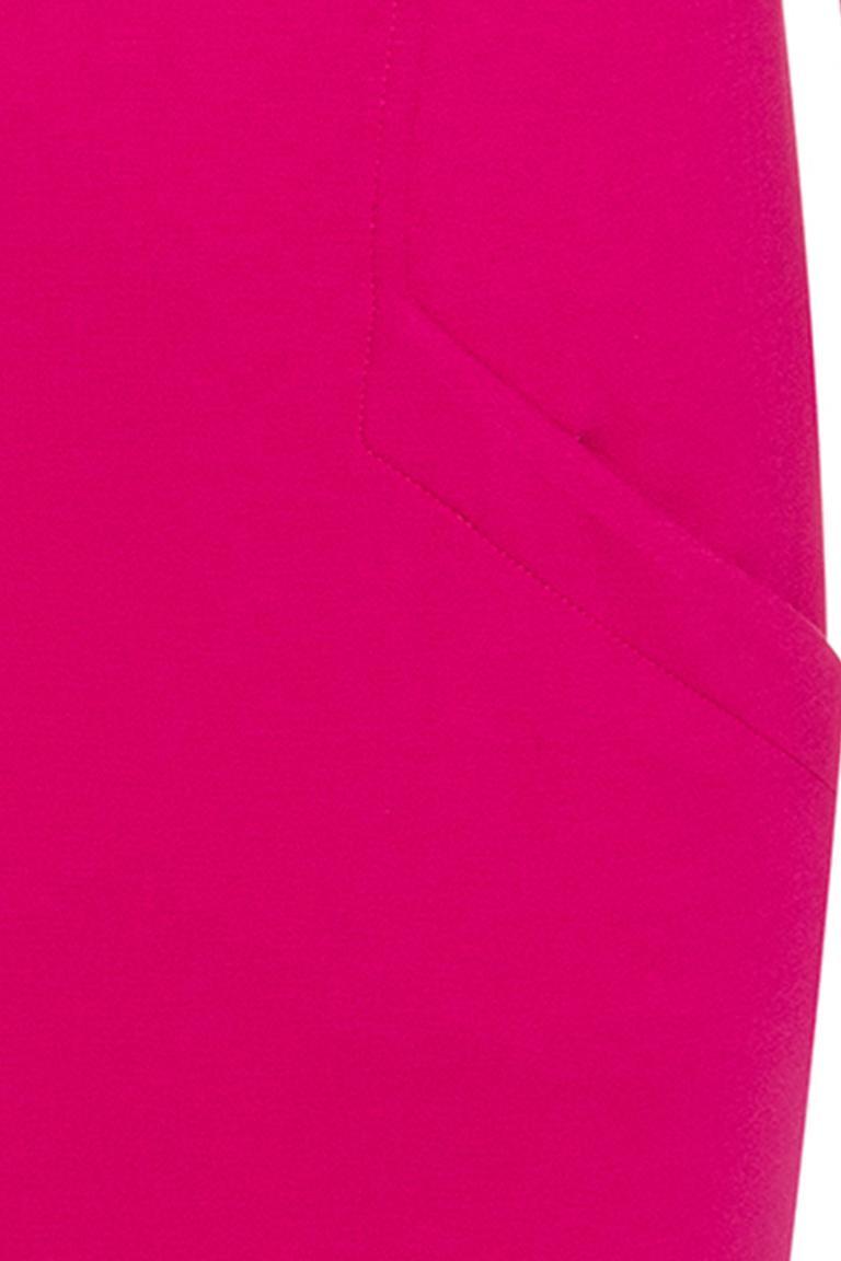 Vorderansicht von Ana Alcazar Freizeitkleid Ozory Pink  angezogen an Model