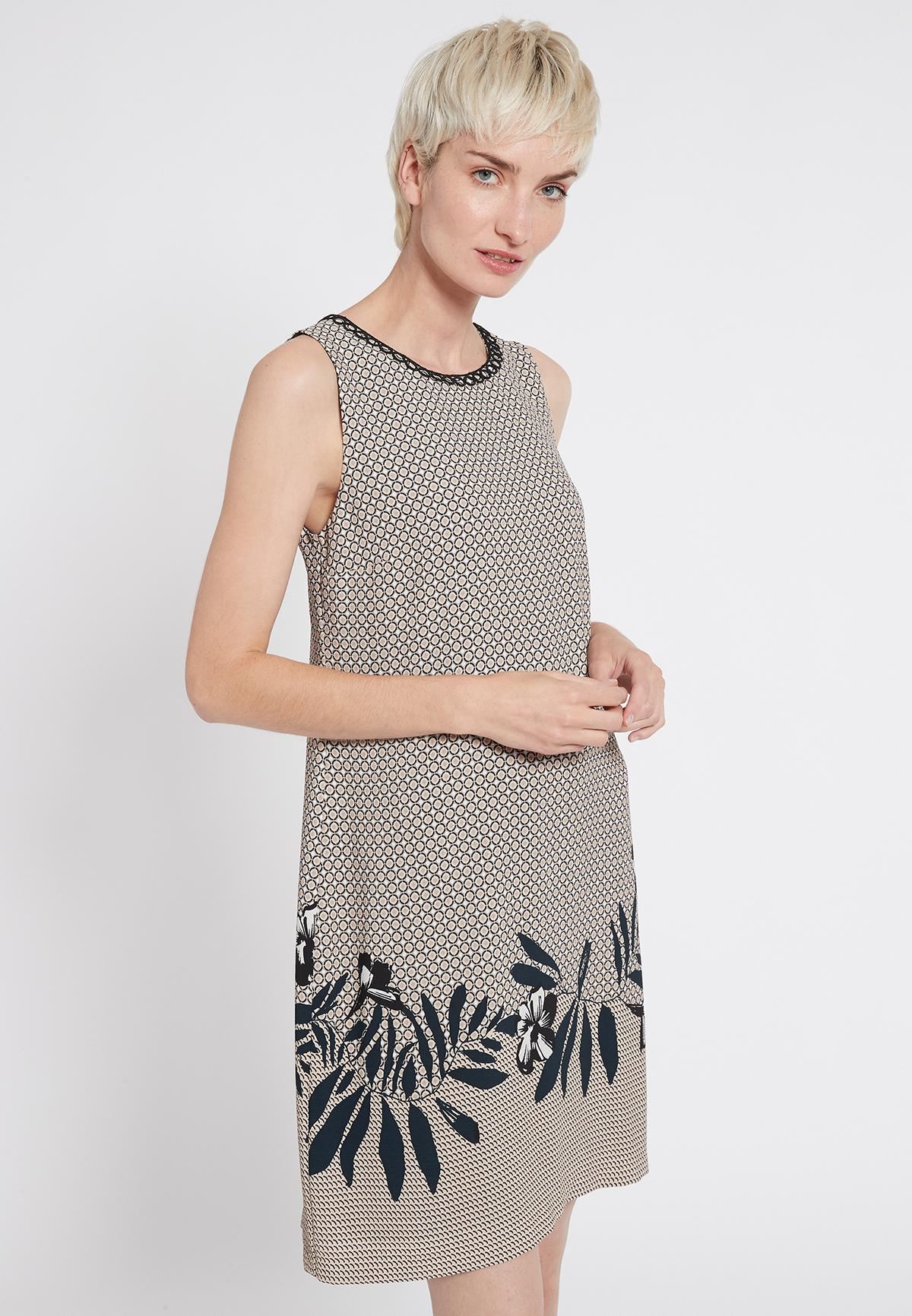 Front of Ana Alcazar Sleeveless Dress Sedoni  worn by model