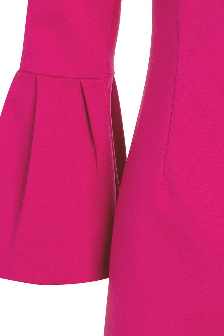 Vorderansicht von Ana Alcazar Top Orpina Pink  angezogen an Model