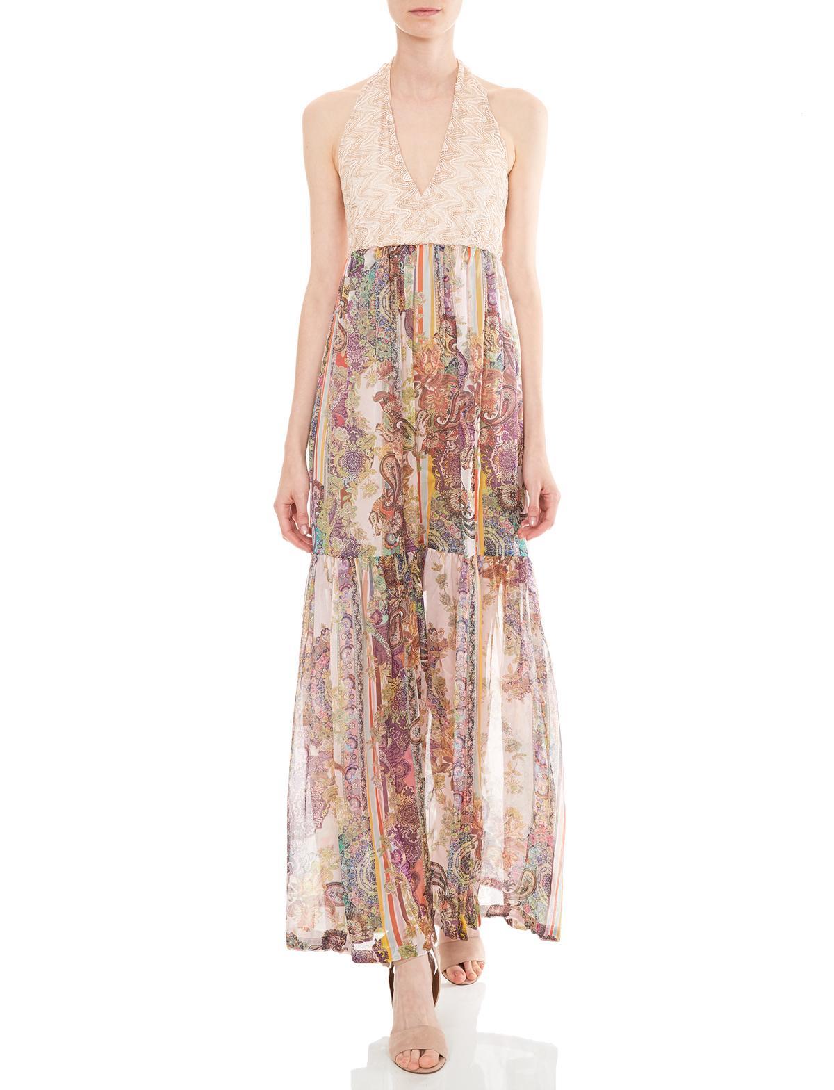 11489889125 Front of Ana Alcazar Maxi Dress Madalyn worn by model