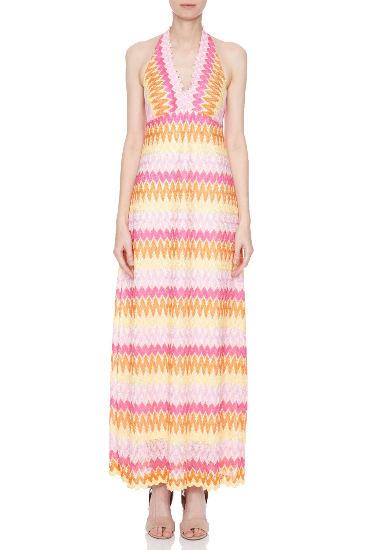 Front of Ana Alcazar Maxi Dress Nasmey  worn by model